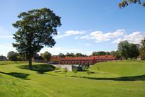 绿色草坪景观