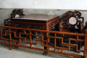实木小方桌
