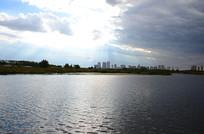 松花江沿岸风景