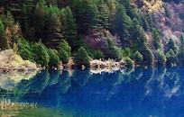 湖泊山水风景