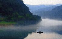小东江山水风景