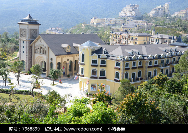 华侨城美景图片