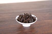 武夷岩茶水仙叶底