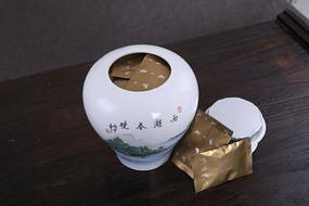 西湖龙井茶罐