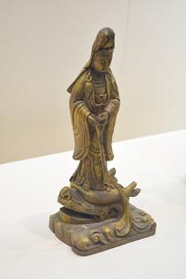 观音菩萨金漆木雕