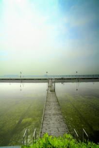 集美海边游泳池
