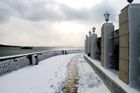 雪地美景高清图片