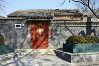 北京民居小院