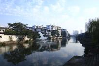 宁波水边人家风景