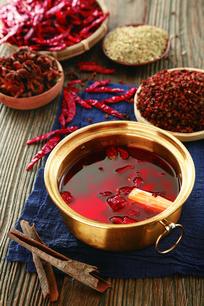红油麻辣锅
