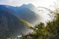 陕西秦岭山脉
