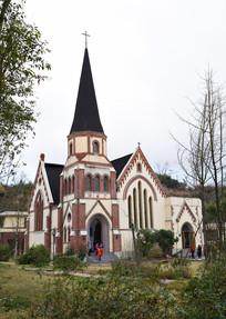 五凤溪的基督教堂