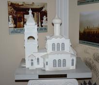 阿列克谢耶夫教堂模型