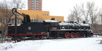 解放522蒸汽小火车