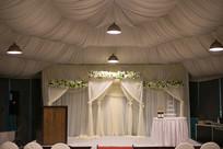 白色婚礼布置