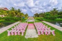 草坪婚庆布置