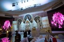 城堡婚礼布置