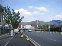 道路建筑风景图片