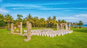 花卉草坪婚庆布置