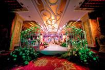 花卉婚礼舞台灯光设计