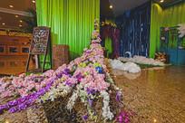 花卉结婚布置