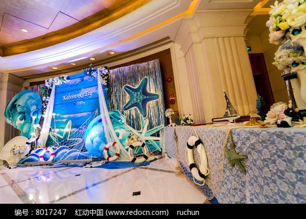 婚礼舞台迎宾区图片