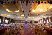 婚宴舞台照明布置