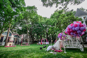 户外草坪婚礼