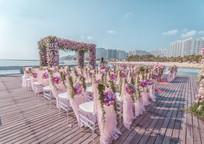 户外花卉婚礼