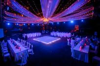 结婚灯光舞台布置