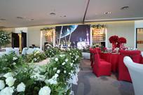结婚花艺舞台