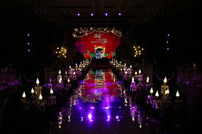 结婚舞台场布