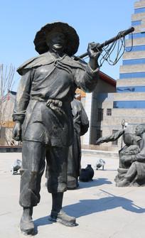 辽代人物雕塑