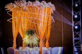 时尚婚礼餐桌布置