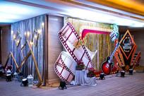 新婚音乐舞台背景