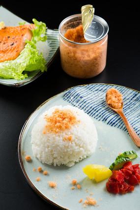 白米饭鱼松