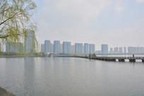 柯桥瓜渚湖风景