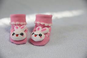 小白兔婴儿袜子