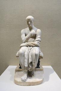 古代意大利男子雕像