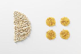 桂花薏米茶