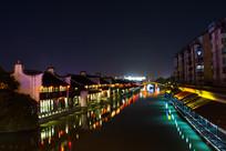 夜江南水街