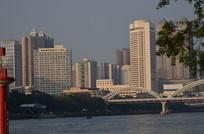 城市江景建筑风光图片