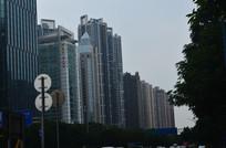 城市建筑群风景图片