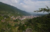 大山小镇风景
