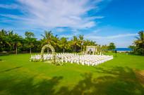 户外大型草坪婚庆