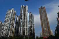 城市高楼建筑风景图片