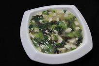 豆腐紫菜汤