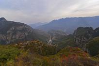 太行峡谷秋天风光