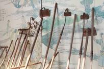 传统农业工具耙子