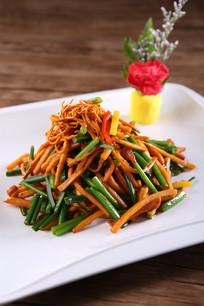 韭香阳菜松茸菌